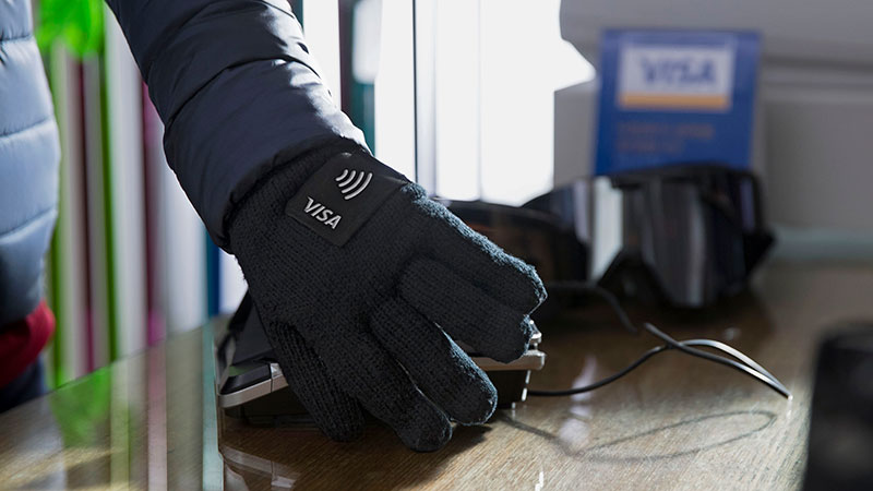 wearables for olympic winter games glove